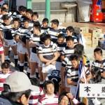 本郷高校ラグビー部 第90回全国高等学校ラグビーフットボール大会 開会式1