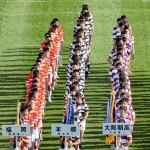 本郷高校ラグビー部 第90回全国高等学校ラグビーフットボール大会 開会式6