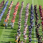 本郷高校ラグビー部 第90回全国高等学校ラグビーフットボール大会 開会式9